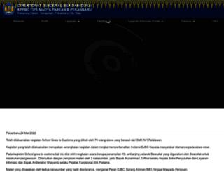 bcpekanbaru.beacukai.go.id screenshot