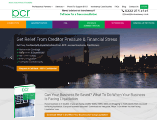 bcr-insolvency.co.uk screenshot