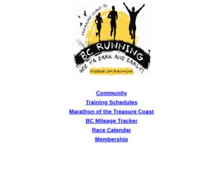 bcrunning.com screenshot
