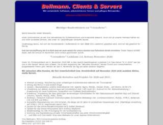 bcs-computersysteme.com screenshot