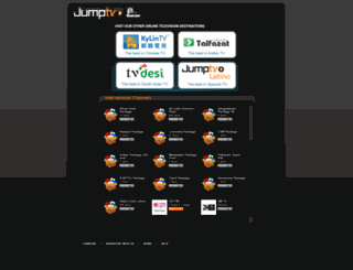 bcsfootball.jumptv.com screenshot