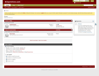 bcsportsfans.com screenshot