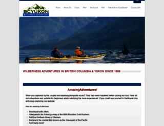 bcyukonadventures.com screenshot