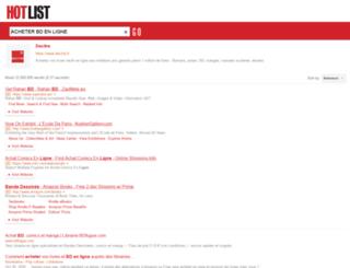 bd-en-ligne.fr screenshot