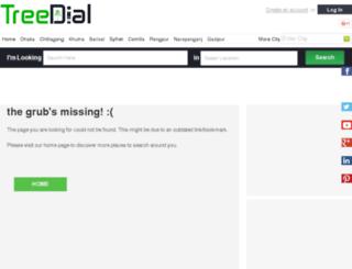 bd.treedial.com screenshot