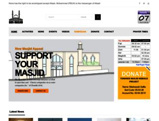 bd5masjid.com screenshot