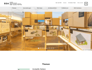 bda-architekten.de screenshot