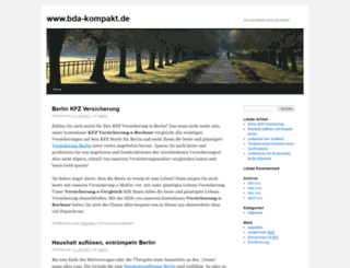 bda-kompakt.de screenshot