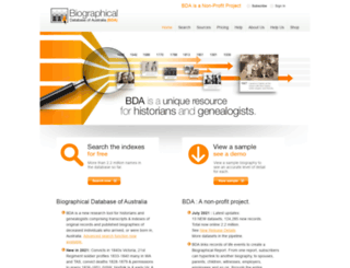 bda-online.org.au screenshot