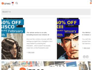 bdcomics.izneo.com screenshot