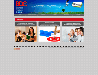 bdcspain.es screenshot