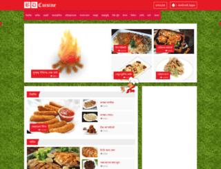 bdcuisine.com screenshot