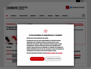 bdebate.org screenshot
