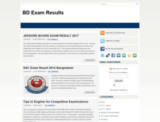 bdexamresults.blogspot.com screenshot