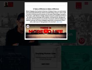 bdgfoundation.org screenshot