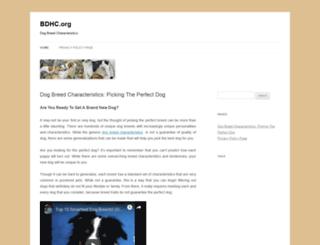 bdhc.org screenshot