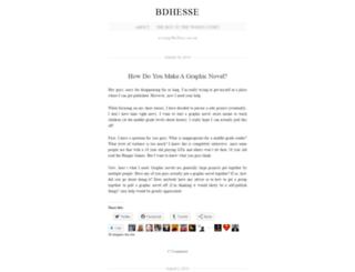 bdhesse.wordpress.com screenshot