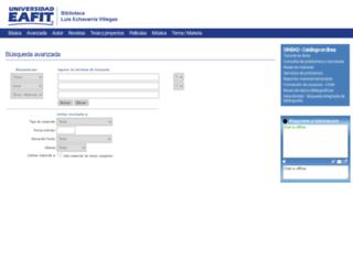 bdigital.eafit.edu.co screenshot