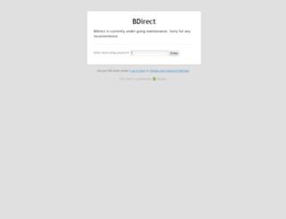 bdirect.com.au screenshot
