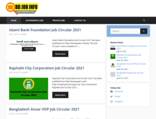 bdjobinfo.com screenshot