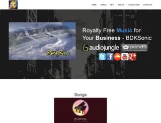 bdksonic.com screenshot