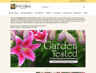 bdlilies.com screenshot