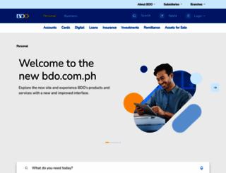 bdo.com.ph screenshot