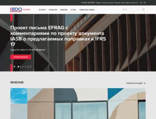 bdo.ru screenshot
