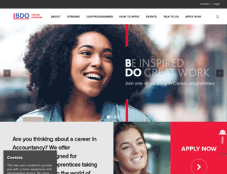 bdograduaterecruitment.co.uk screenshot