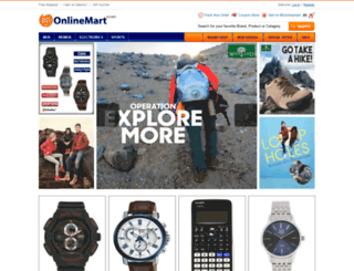bdonlinemart.com screenshot