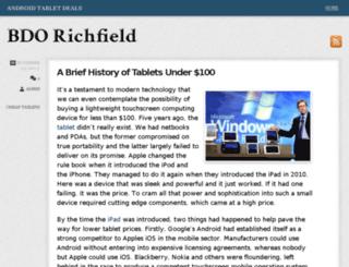 bdorichfield.com screenshot