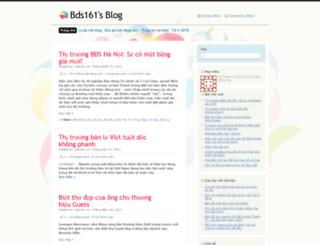bds161.wordpress.com screenshot
