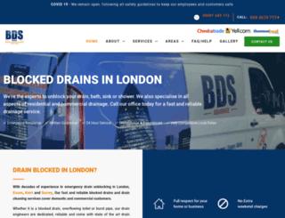 bdsdrainage.co.uk screenshot