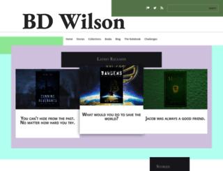 bdwilson.ca screenshot