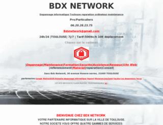 bdxnetwork.fr screenshot