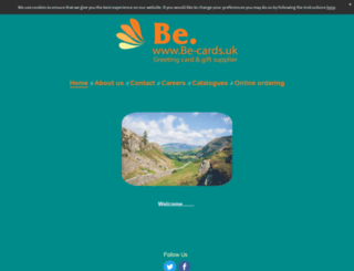 be-cards.uk screenshot
