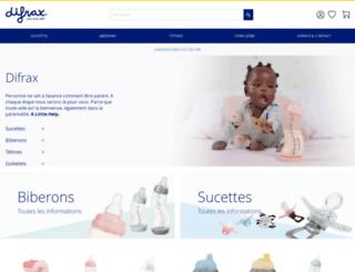 be-fr.difrax.com screenshot