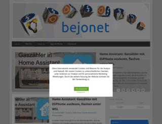 be-jo.net screenshot