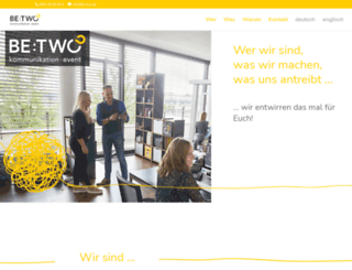 be-two.de screenshot