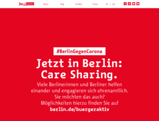 be.berlin.de screenshot