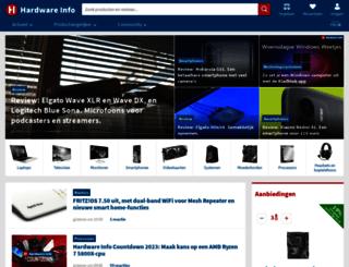 be.hardware.info screenshot