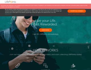 be.mysurvey.com screenshot