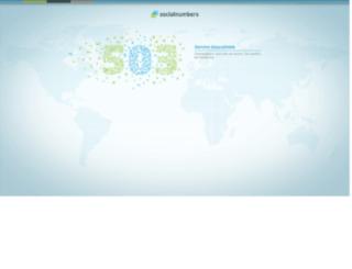 be.socialnumbers.com screenshot