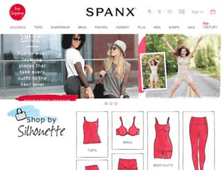 be.spanx.fr screenshot
