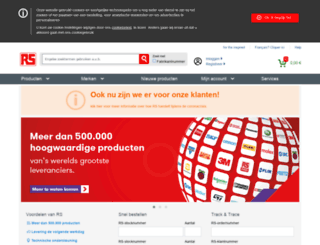 be02.rs-online.com screenshot