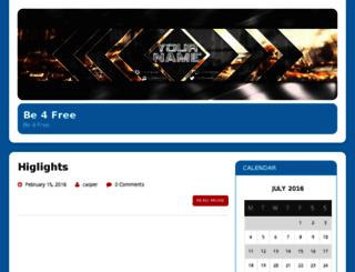 be4free.com screenshot