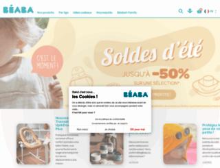 beaba.com screenshot