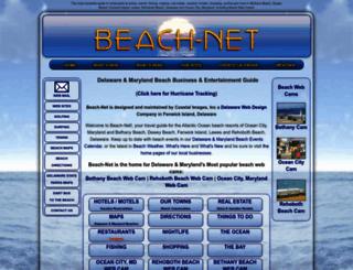 beach-net.com screenshot