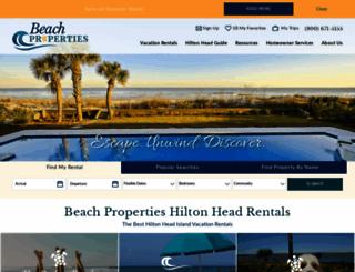 beach-property.com screenshot