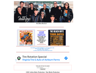 beachboysband.net screenshot